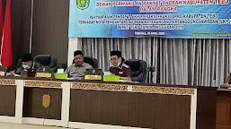 Rapat Paripurna DPRD Tebo Melalui Tele Konference Berlangsung Sukses