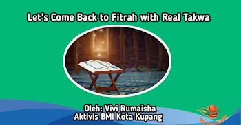 Let's Come Back to Fitrah with Real Takwa