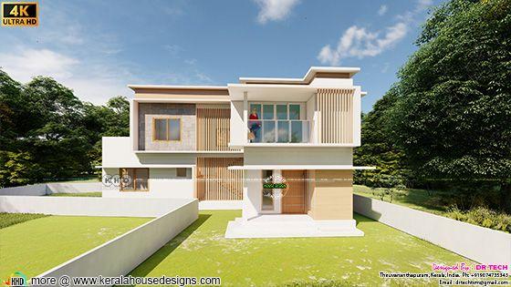 4 bedroom contemporary villa design