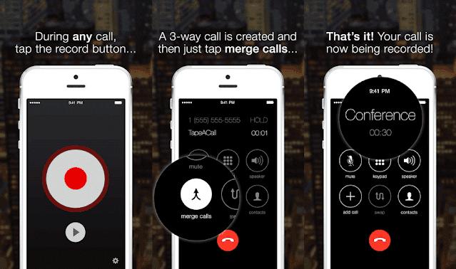 برامج تسجيل المكالمات للايفون _برنامج iRec Call Recorder for iPhone