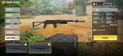 new sks garena cod mobile all need know