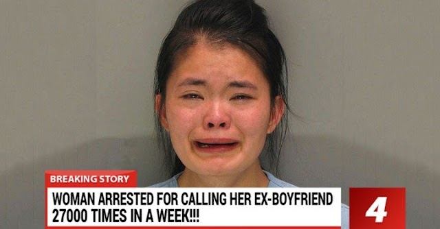 Girl Arrested For Calling Ex-boyfriend More Than 27,000 Times After Break Up