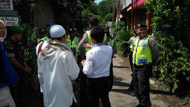 Terjadi Lagi! Polisi Bubarkan Paksa Kajian Umat Islam di Magelang