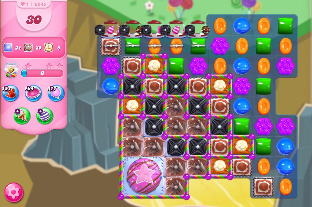 Candy Crush Saga level 6245