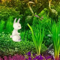 Wow Easter Bunny Garden …