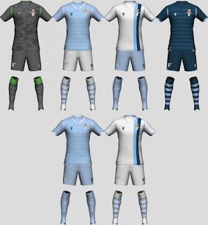 PES 2020 SS Lazio 2019-20 Kit Set by tekask1903
