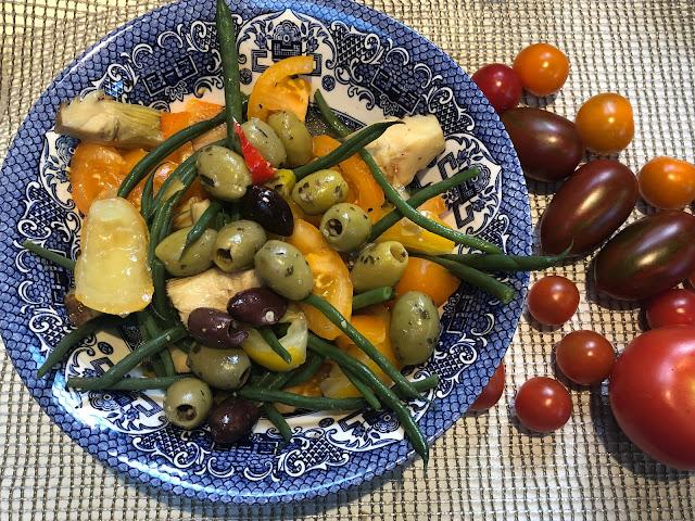 summer salads, summer dinners