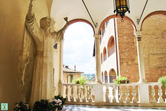 Santuario de Santa Caterina en Siena