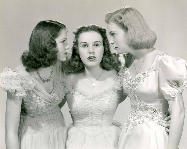 1936. Barbara Read, Deanna Durbin, Nan Grey - Three smart girls