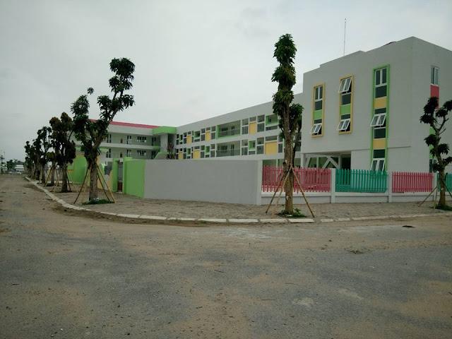 Trường mầm non khu chung cư B1.3 Thanh Hà Mường Thanh