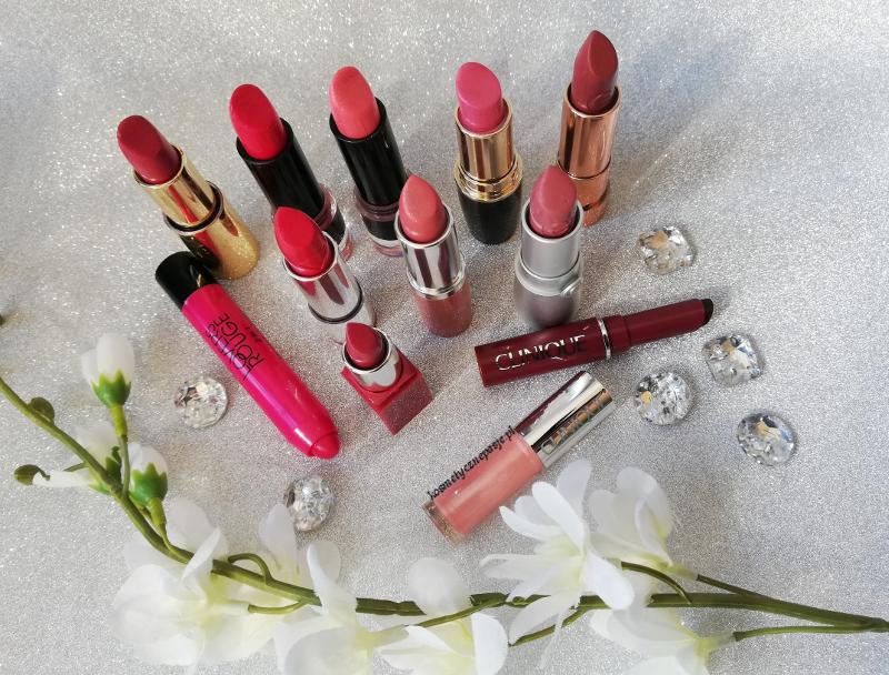 szminki do ust przegląd kolorów