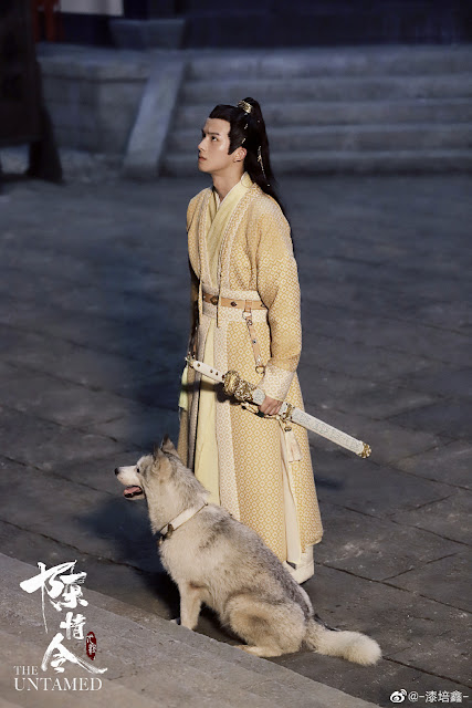 Qi Peixin Jin Ling and Fairy