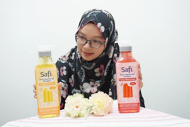 Tampil Yakin Dengan Kesegaran Safi Anti-Bacterial Shower Cooling