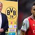Pierre-Emerick Aubameyang Fires Back At Borussia Dortmund Chief Over Champions League Claim