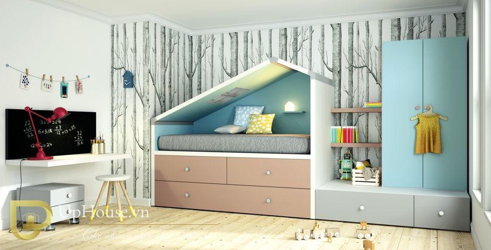 Mẫu giường tầng đẹp 11