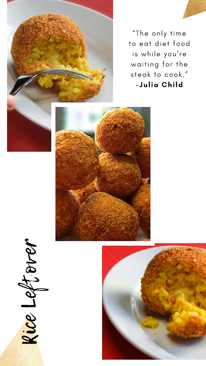 How to Use Rice Leftovers: Rice Ball with Surprise Inside