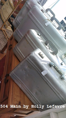 Vintage Goods, suitcases