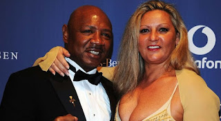 Kay Guarrera with her late husband Marvelous Marvin Hagler