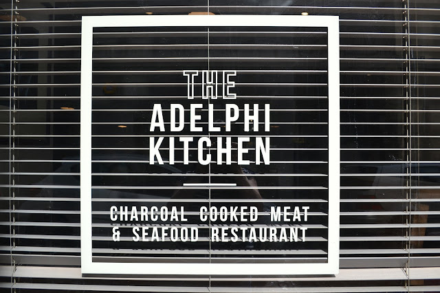 The Adelphi Kitchen window