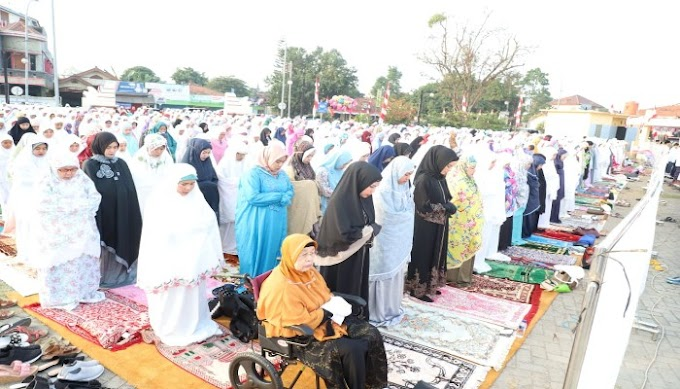 Momen Hari Raya Qurban, Bupati Serang : Pasca Idul Adha ASN harus Rajin Berbagi