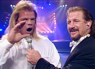 WCW Clash of the Champions X -  Terry Funk interviews Lex Luger