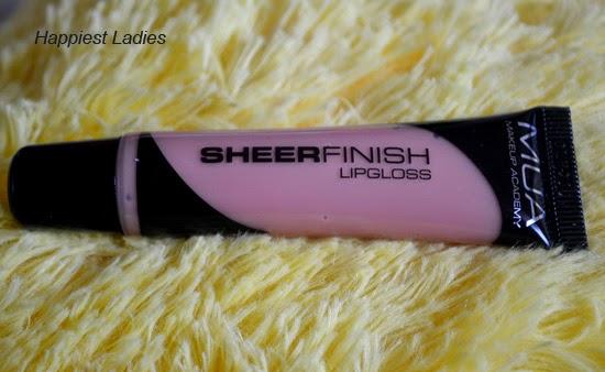 MUA Sheer Lip Gloss Lets Meet Review