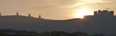 Molinos y Castillo de Consuegra.