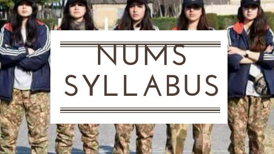 Nums Syllabus