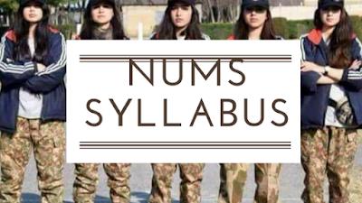 NUMS Syllabus 2018