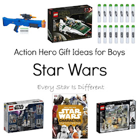 Star Wars: Action Hero Gift Ideas for Boys