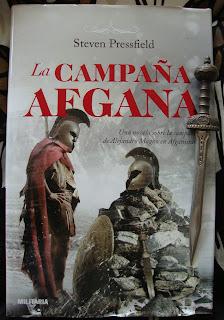 Portada del libro La campaña afgana, de Steven Presfield