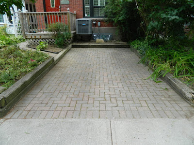 Toronto Dovercourt Park Front Garden Cleanup After by Paul Jung Gardening Services--a Toronto Gardening Company