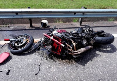 Bank Executive Dies After Superbike Crashes