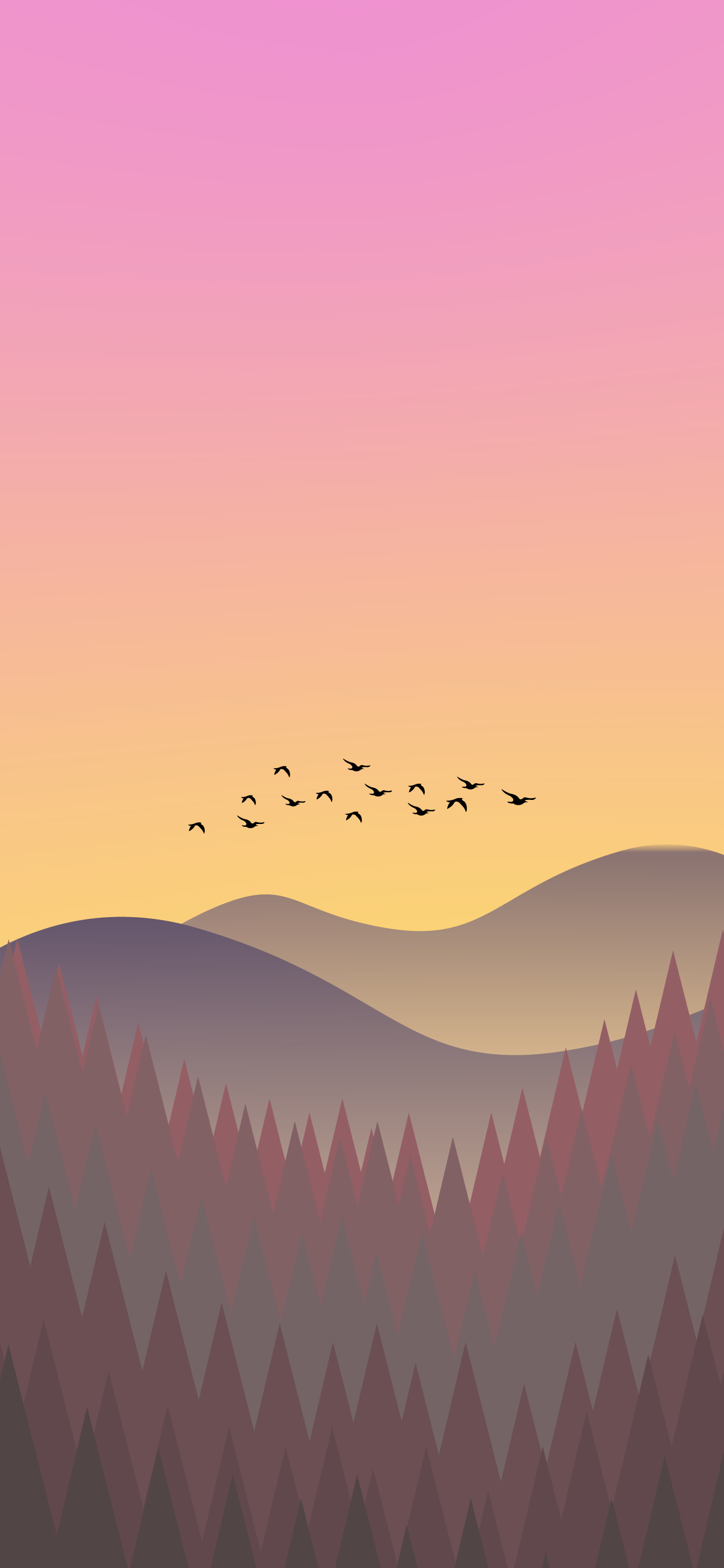 aesthetic view nature wallpaper for iphone
