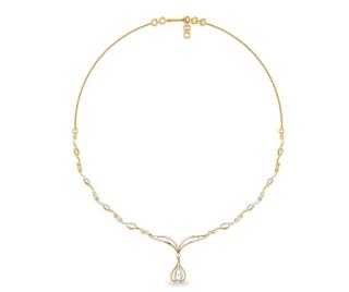 The Malia Diamond Necklace