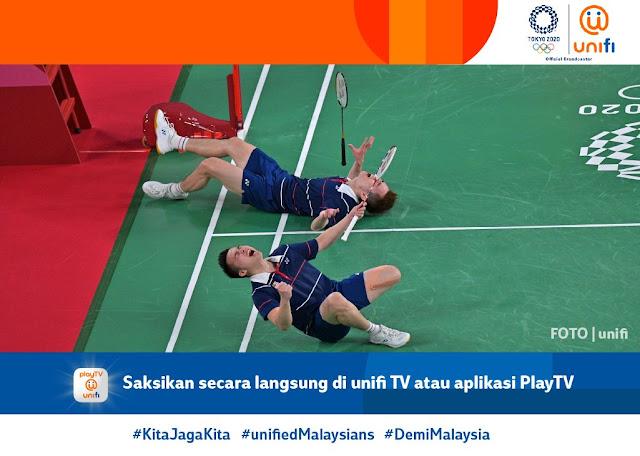 pingat gangsa pertama daripada begeru badminton lelaki negara