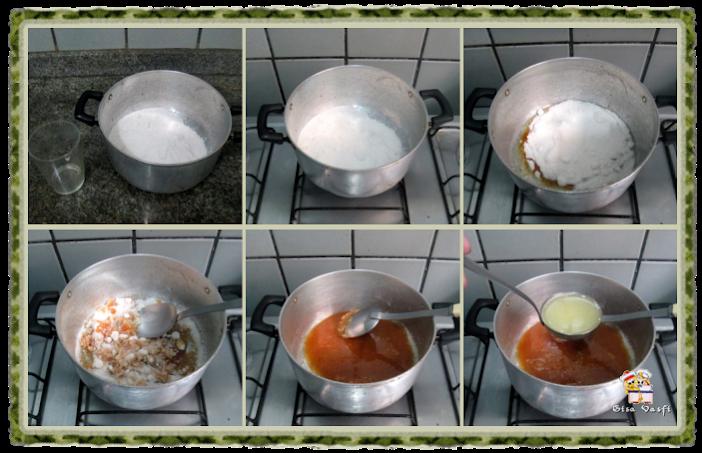 Doce de leite talhado ou doce de rolha 4