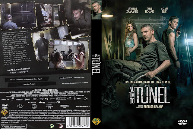 Capa DVD No Fim do Túnel