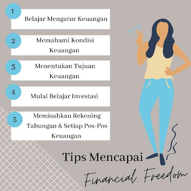 Tips mencapai financial freedom