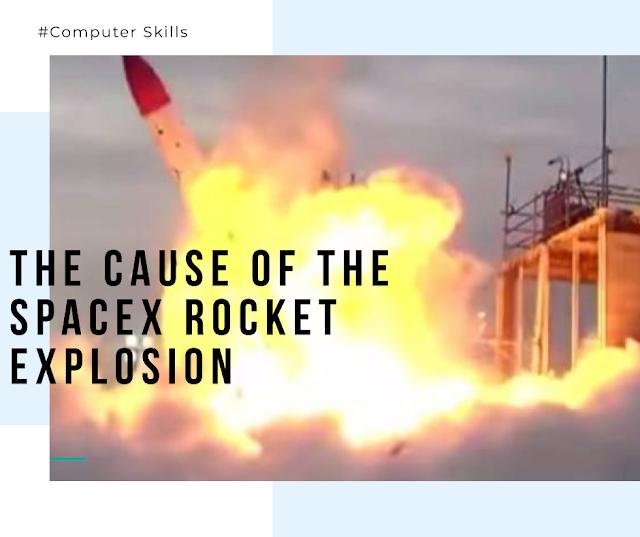 La cause de l'explosion de la fusée SpaceX