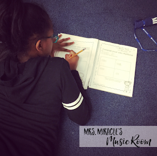 Composing in the Music Room: Great ideas for your music lessons to easily have students compose!