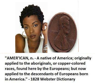 america is morocco copper colored native