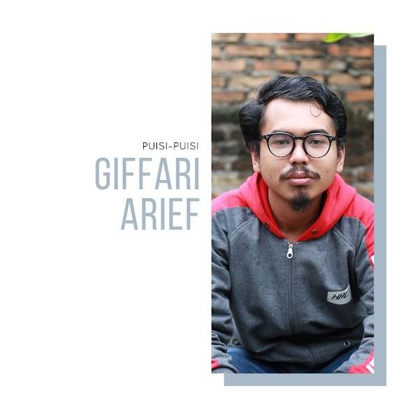 Puisi-puisi Giffari Arief (Padang)
