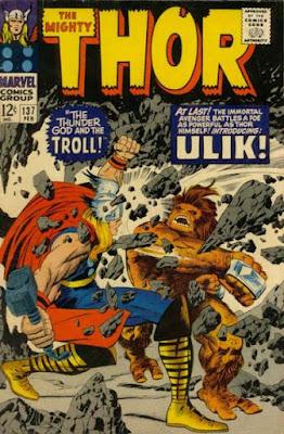 Thor #137, Ulik