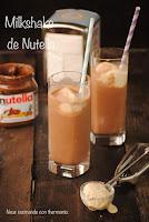 Milkshake de Nutella y vainilla