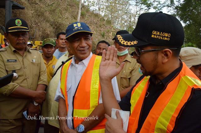 Penahan Tebing Setinggi 7 Meter, Dirancang Untuk Tangani Longsor di KM 16