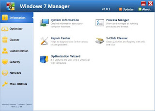 Windows 7 Manager Full Free Download