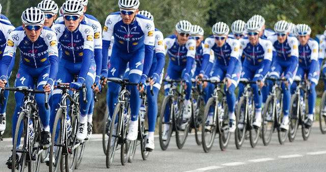Quick step floors team to tour de france biketoday news for Quick step floors cycling team