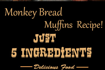 Monkey Bread Muffins Recipe! {Just 5 Ingredients}