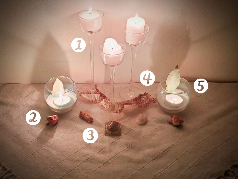 Imbolc, altar, witchcraft, sabbat, Candlemas, St. Brigid's Day